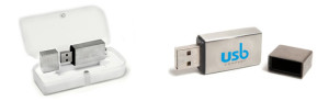 Iron Square USB memory stick