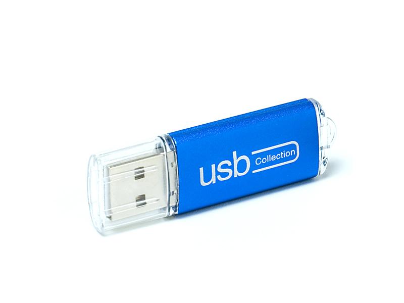 Clear USB flash drive