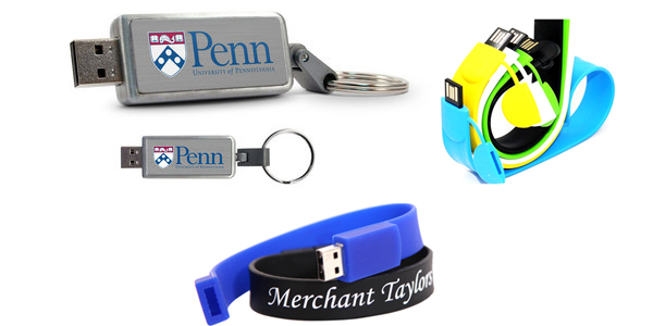 Use of USB Memory Drives to Promote Educational Institutions